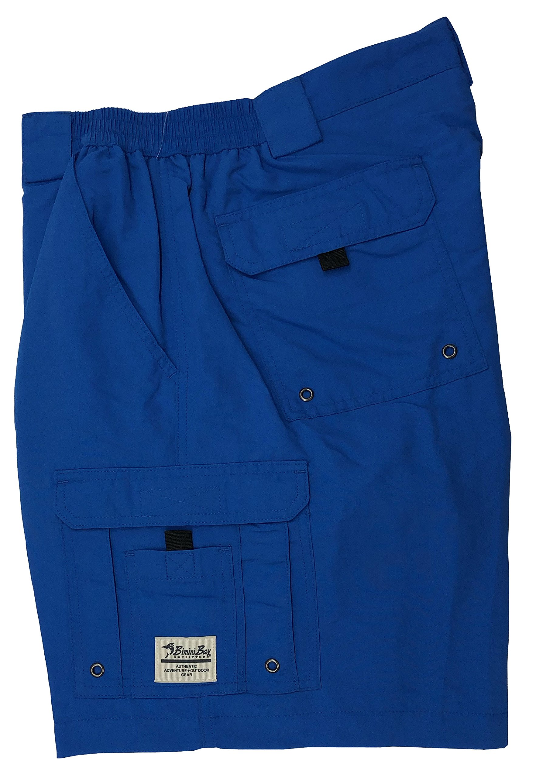 Bimini Bay Outfitters Boca Grande Nylon Short (2-Pack) (Ocean, 44) by Bimini Bay Outfitters