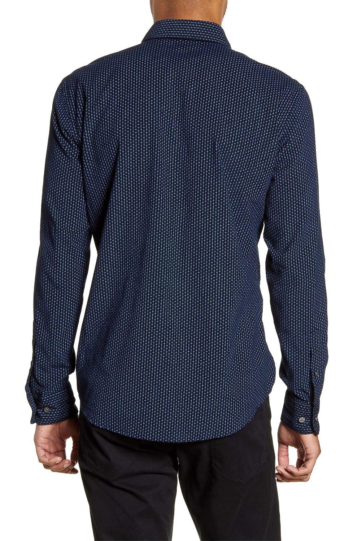 Hugo Boss Mens Ronni Baby Cord Slim Fit Shirt