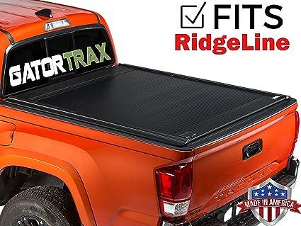Gatortrax Retractable (fits) 2017 2018 Honda Ridgeline 17Up Only Matte  Truck Bed Tonneau