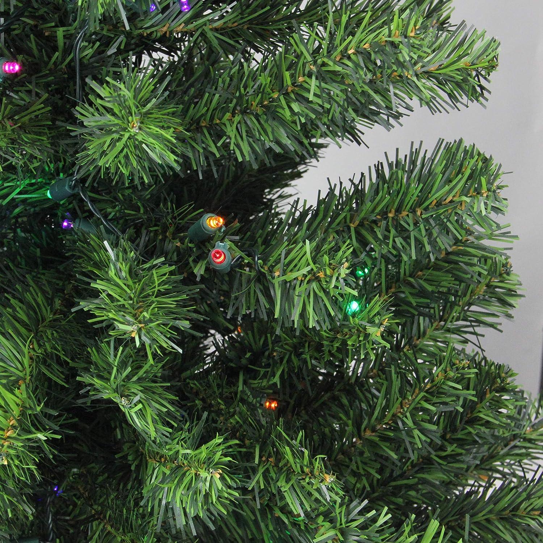 Amazon.com: Árbol de Navidad artificial de pino canadiense ...