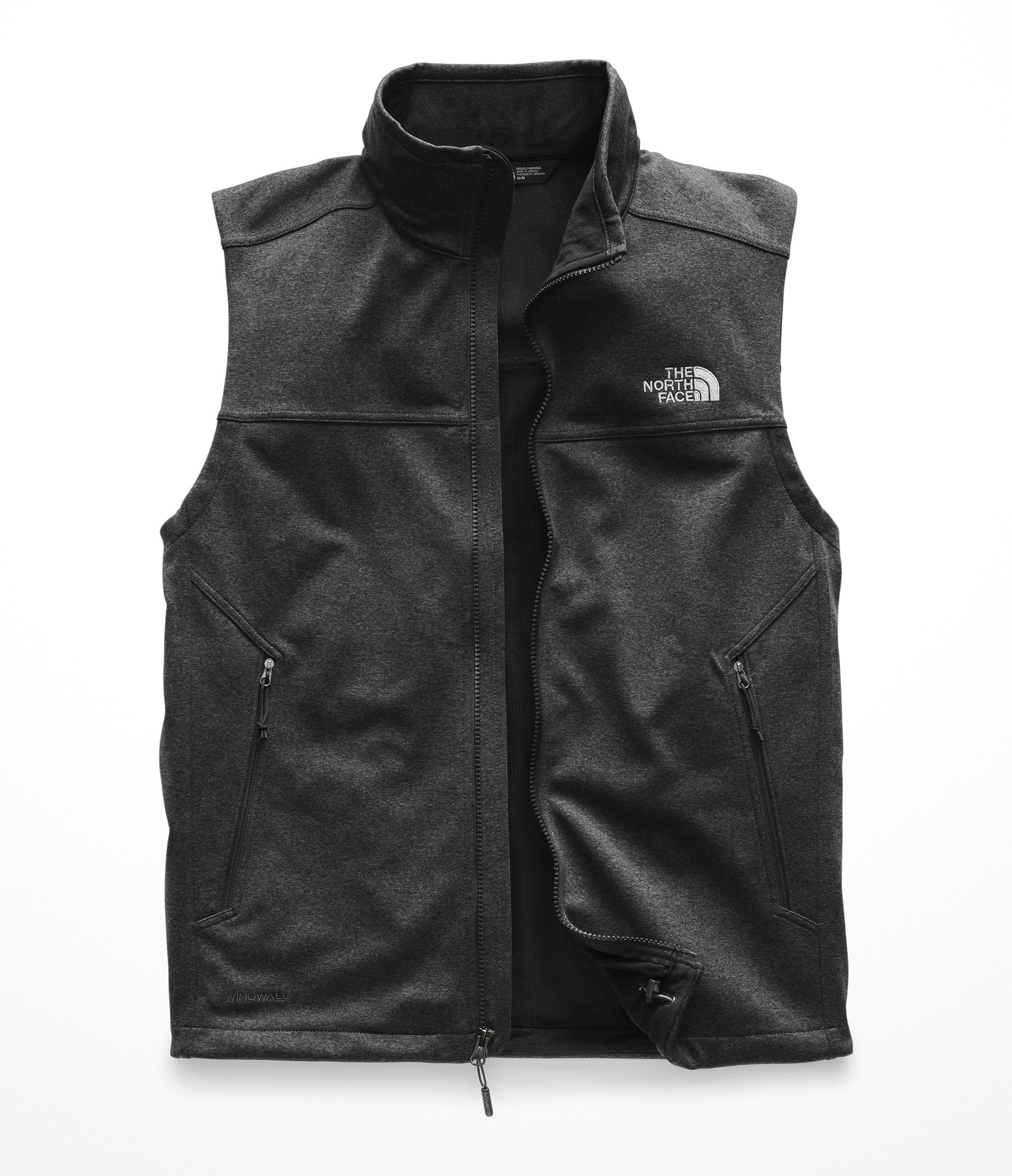 The North Face Men's Apex Canyonwall Vest - TNF Dark Grey Heather & TNF Dark Grey Heather - M