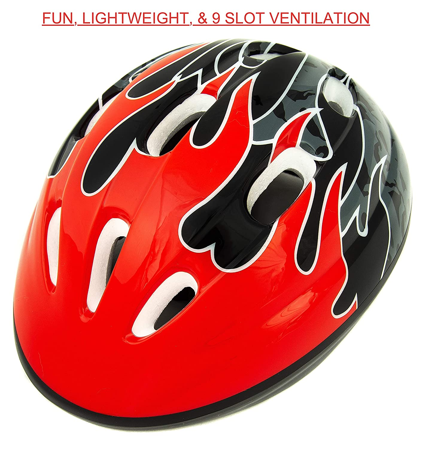 Baby Solo Toddler Bike Helmet Safe Adjustable CSPC Certified Vented 2-5 Years Old Boy and Girl Colors Lightweight