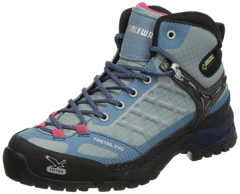 Salewa Women's Firetail EVO Mid GTX Shoe B00J5EG9IY 7.5 B(M) US Moon/Iceland