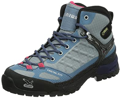 Salewa Women's Firetail EVO Mid GTX Shoe,Moon/Iceland,6.5 ...