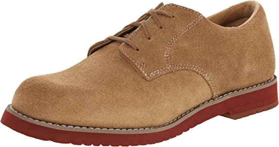 Sperry Tevin Oxford (Toddler/Little Kid/Big Kid),Dirty Buck Suede,6 M US Big Kid best dress shoes for boys