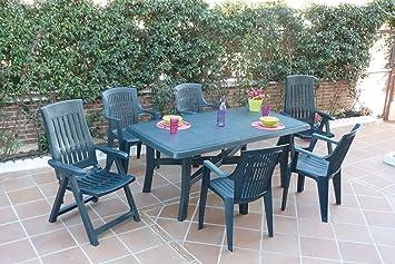 Midland Garden - Table de jardin Senna, Polypropylène - Couleur ...