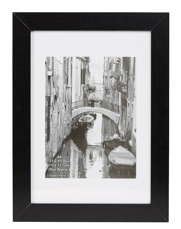 Inspire for Business Kent 21x 30cm A4Easy loader photo/poster Frame–nero Hampton Frames KENA4BLKNG