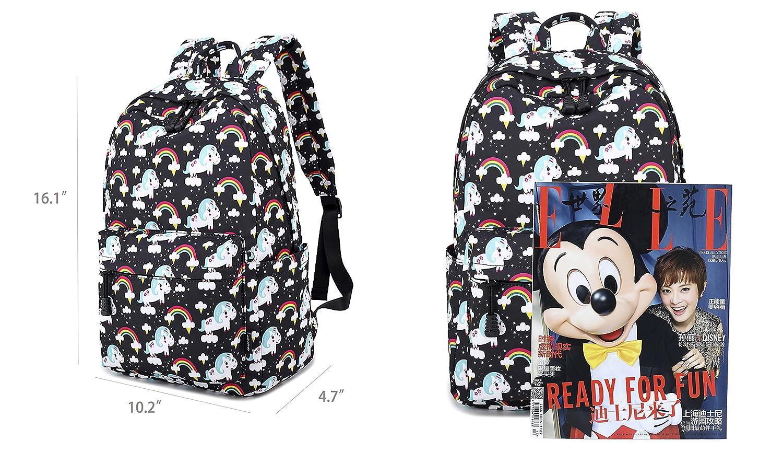 1b77ee33eb5e Abshoo Cute Lightweight Unicorn Backpacks Girls School Bags Kids Bookbags  BPDG2B1