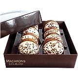 LeilaLove Macarons - Tiramisu Macarons - 8 Macarons
