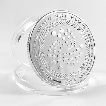 Hodlcat Physische Iota Münze Mit Exklusivem Design Inklusive Tangle