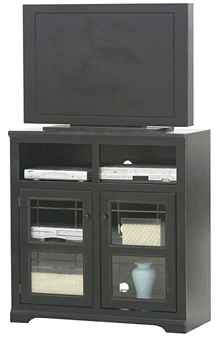 Amazon Eagle Tall Savannah Plain Glass Door Tv Console 39