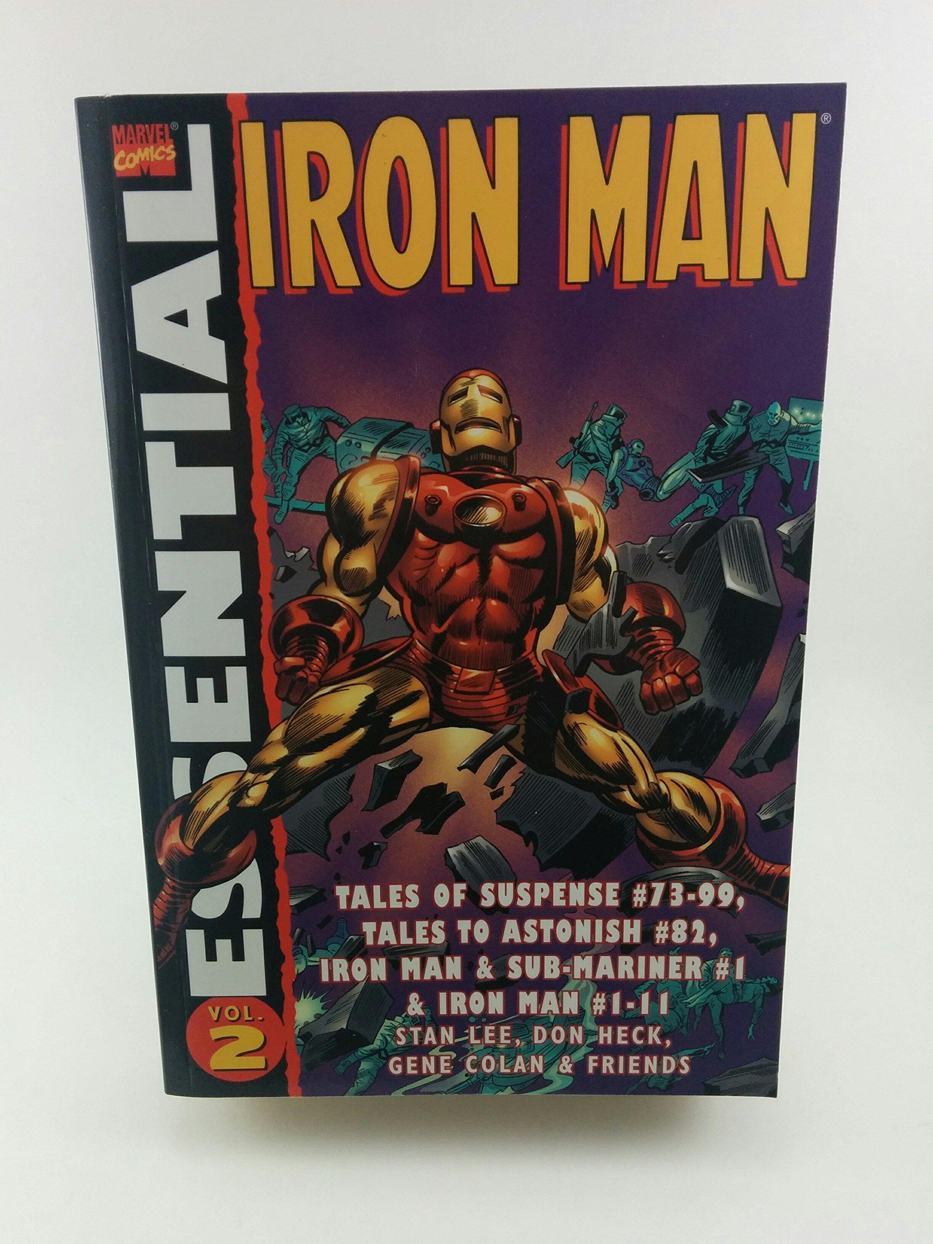 Amazon.com: Essential Iron Man Volume 2 TPB (0759606114870 ...