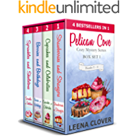Pelican Cove Cozy Mystery Series Box Set 1: Books 1-4 in Pelican Cove Cozy Mysteries