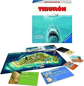 Ravensburger Tiburón, Juego de mesa, Versión Española, 2-4 Jugadores, Edad recomendada 12+