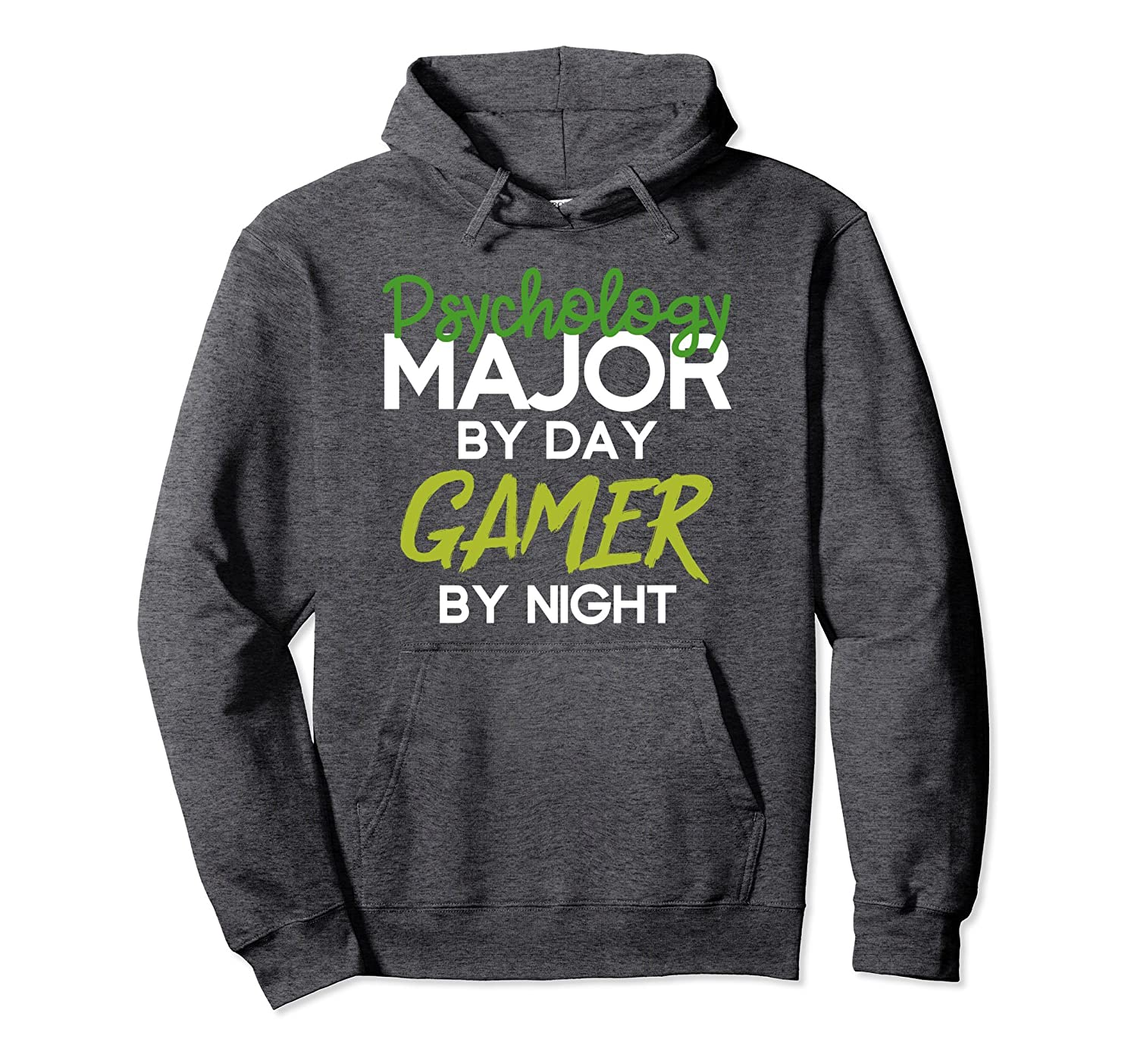 Psychology Major By Day Gamer By Night Student Gift Hoodie-Rose