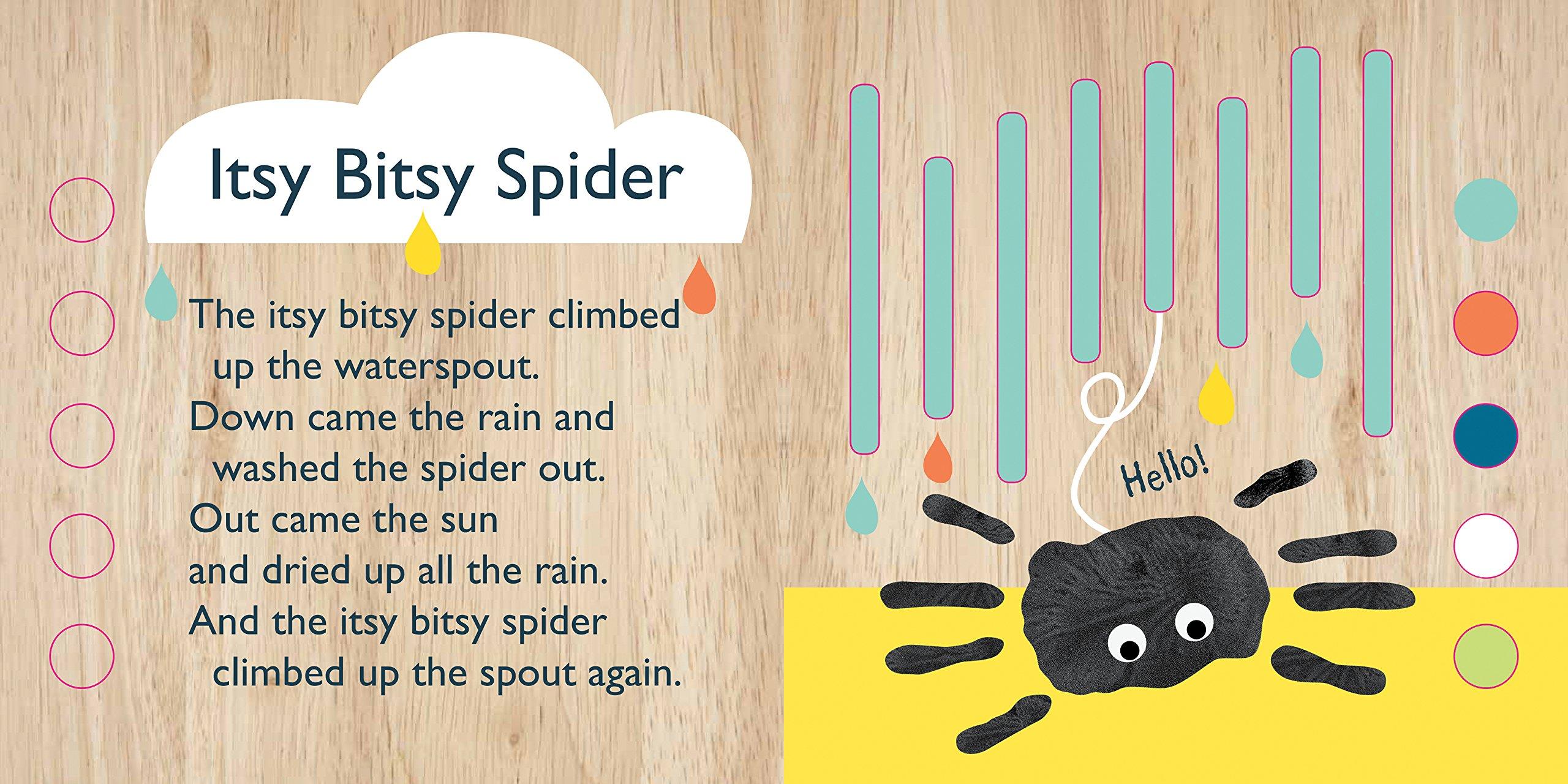 Itsy Bitsy Spider Emily Bannister 9781626867642 Amazon Books