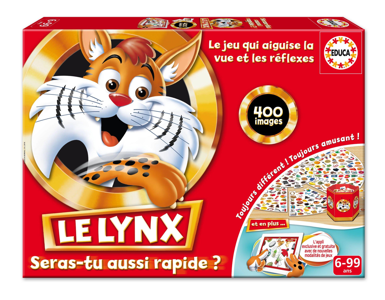 Educa - 16042 - Jeu de société éducatif- Le Lynx 400 images avec Application product image