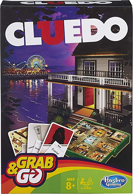 Hasbro Gamings - Cluedo Viaje, Grab & go (versión Inglesa): Amazon ...