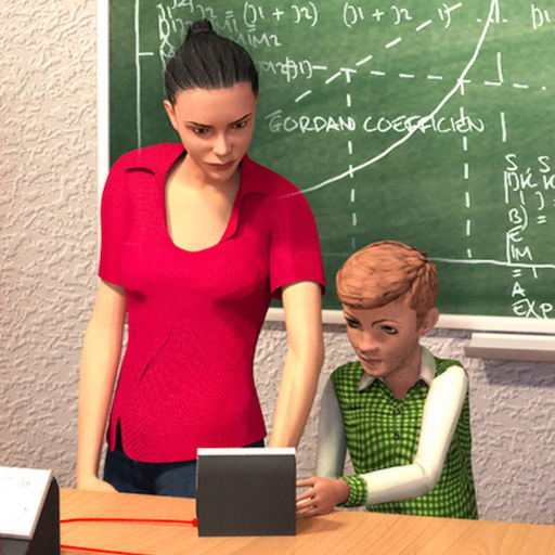 School Teacher Simulator : Fun High School Games For Kids