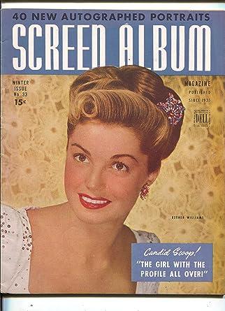 Screen Album Esther Williams June Allyson Clark Gable Winter 1945 At