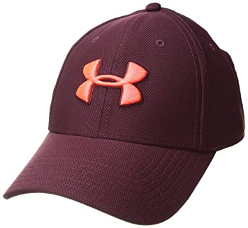 Under Armour Unisex Heathered Blitzing 3.0 Running Cap Blue Sports Breathable