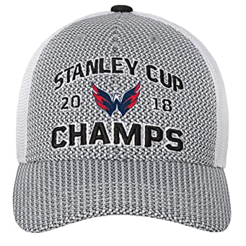 NHL Washington Capitals Male 2018 Stanley Cup Structured Snapback ... 98ee30ca4