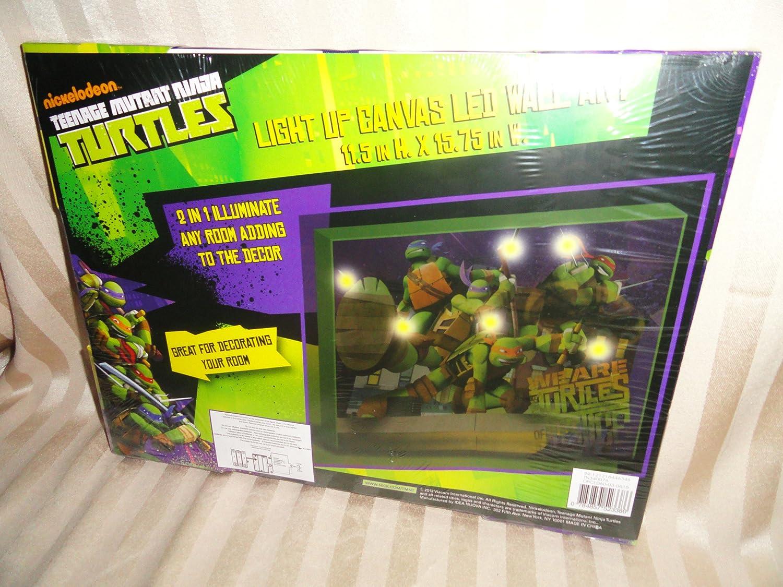Amazon.com: Teenage Mutant Ninja Turtles Light Up LED de ...