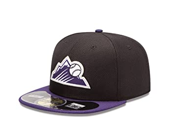 aa7d568db New Era Cap Colorado Rockies Diamond Era 718 Cap, Baseball Caps - Amazon  Canada