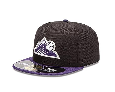 brand new 2e04e 3e0ab New Era Cap Colorado Rockies Diamond Era 718 Cap