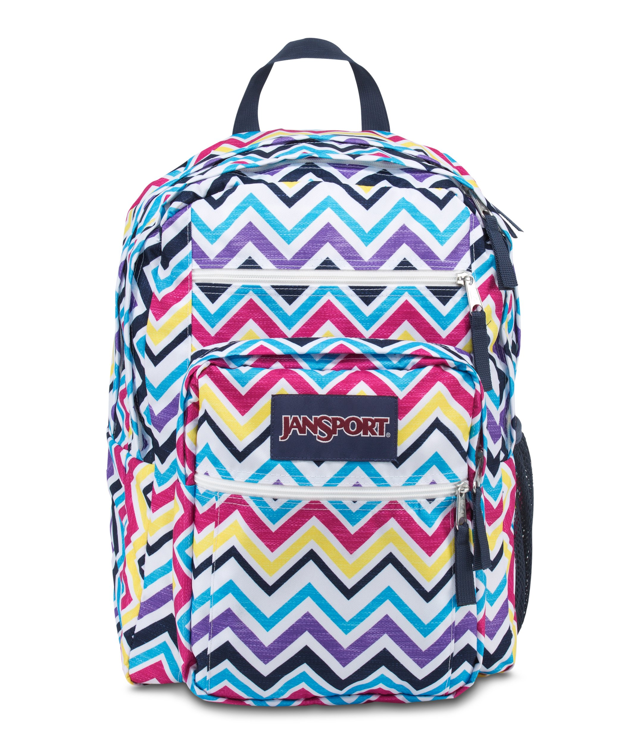 JanSport Big Student Multi Saucy Chevron Backpack by JanSport