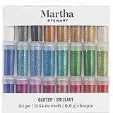 Martha Stewart Fine Glitter, 24 pack