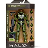 """Halo 6.5"""" Spartan Collection – Master Chief Highly Articulated, Poseable with Weapon Accessories - Scaled to Play & Display ("""