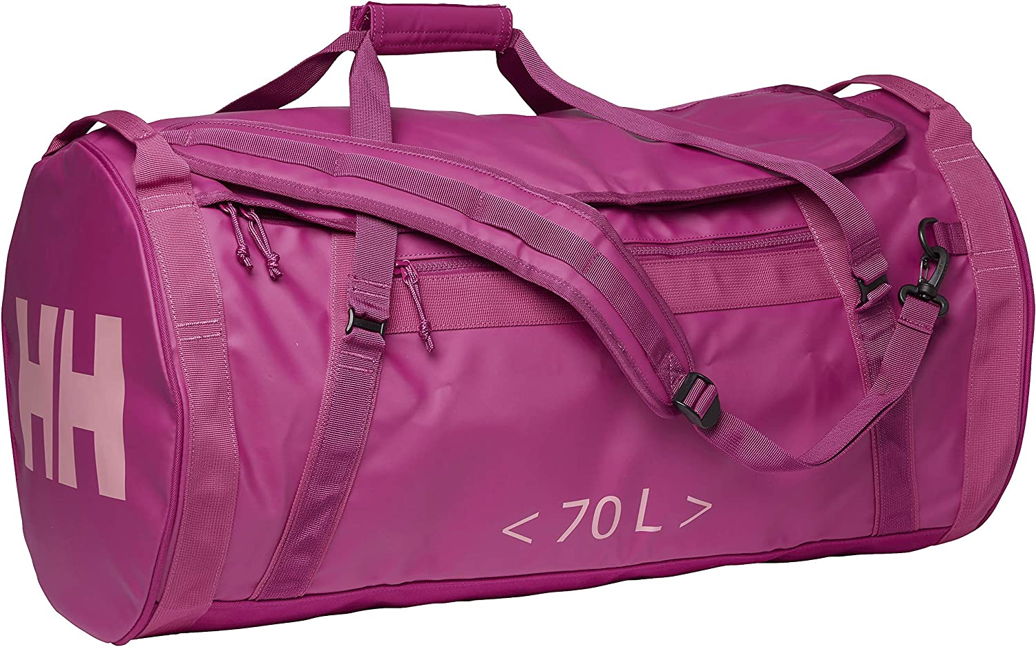 Helly-Hansen Hh Duffel 2 Water Resistant Packable Bag with Optional Backpack Straps