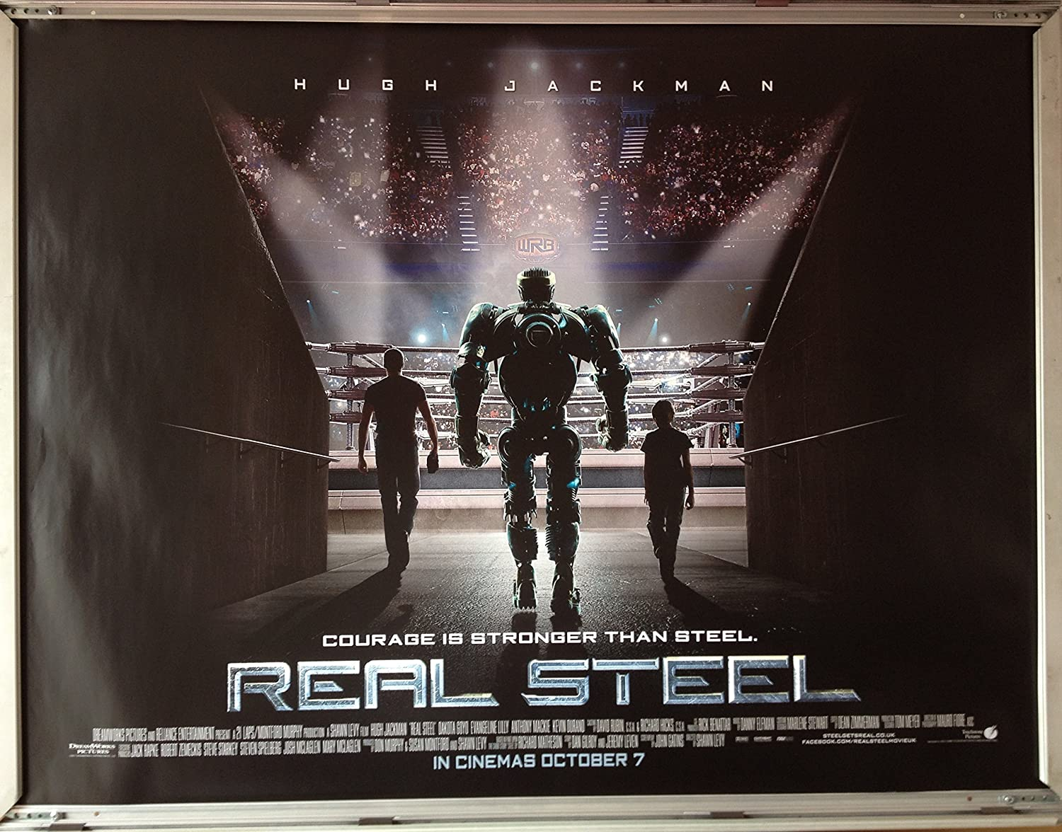 Cinema Poster: Real Steel: Main Quad Film Poster: Amazon.co.uk ...