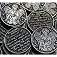 Set of 10 Guardian Angel Pocket Token Coins