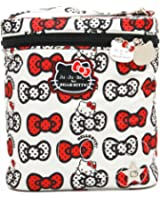 Ju-Ju-Be Hello Kitty Collection Fuel Cell Insulated Bottle and Lunch Bag, Peek A Bow