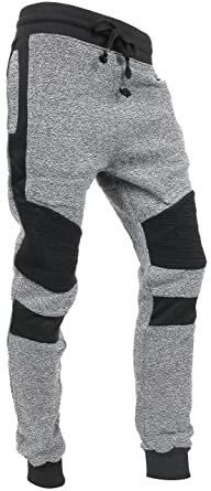c0d41cea3689ac Hat and Beyond Casual Fleece Jogger Pants Active Elastic Urban Biker Slim  Fit (Small,