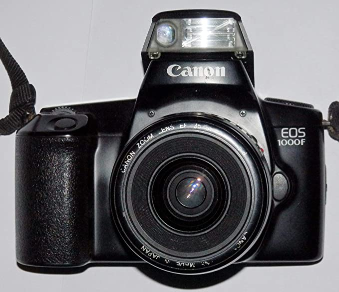 Canon EOS 1000 – SLR Cámara – Cámara réflex analógica con AF de ...