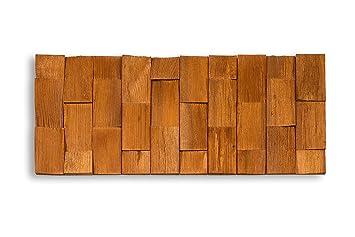 Echt Holzverblenderwandverkleidung Holz Wide Hellbraun Ca