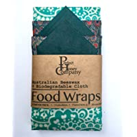 Beeswax Food Wraps | Starter Pack of 5 | Australian Bees Wax - Random Selection