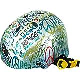 ラングスジャパン (RANGS) アクティブスポーツヘルメット ピース ブルー