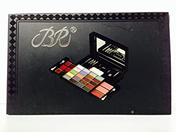 BR Makeup 20 Eye Shadow, 3 Blusher, 1 Powder Cake and 6 Lip Gloss