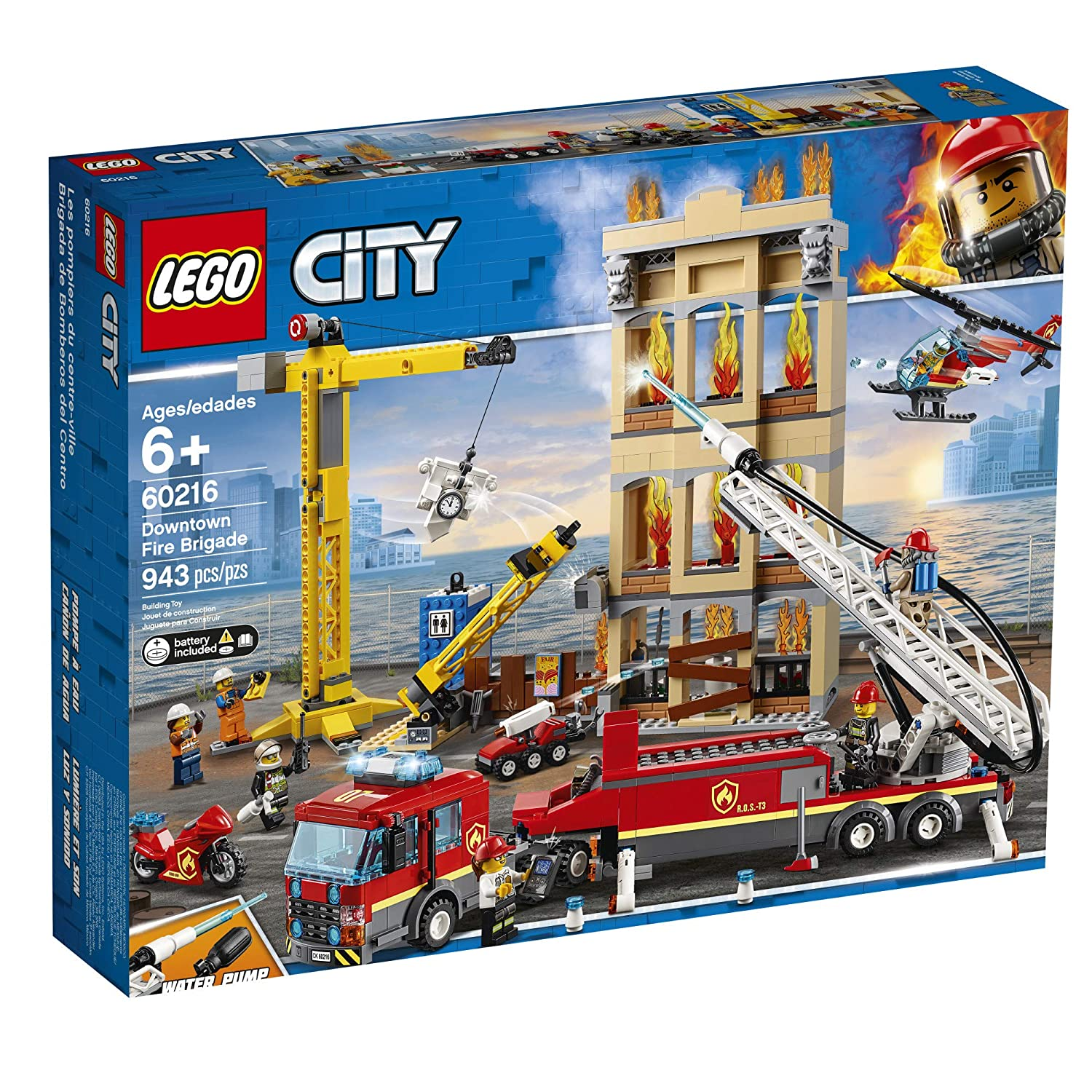 Top 9 Best LEGO Fire Truck Sets Reviews in 2021 14