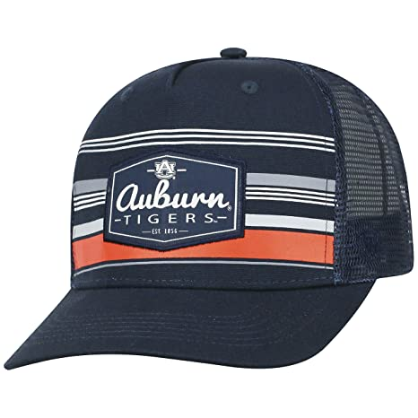 cheaper 07071 34670 Image Unavailable. Image not available for. Color  Top of the World Auburn  Tigers Official NCAA Adjustable Route Mesh Trucker Hat Cap Curved Bill