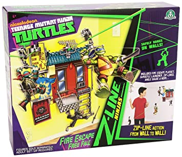 Tortugas Ninja - Playset Z Line Escalera de Incendios ...