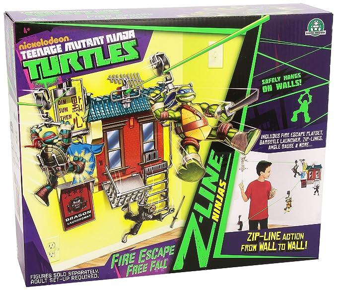 Amazon.com: Teenage Mutant Ninja Turtles – Playset Z Line ...