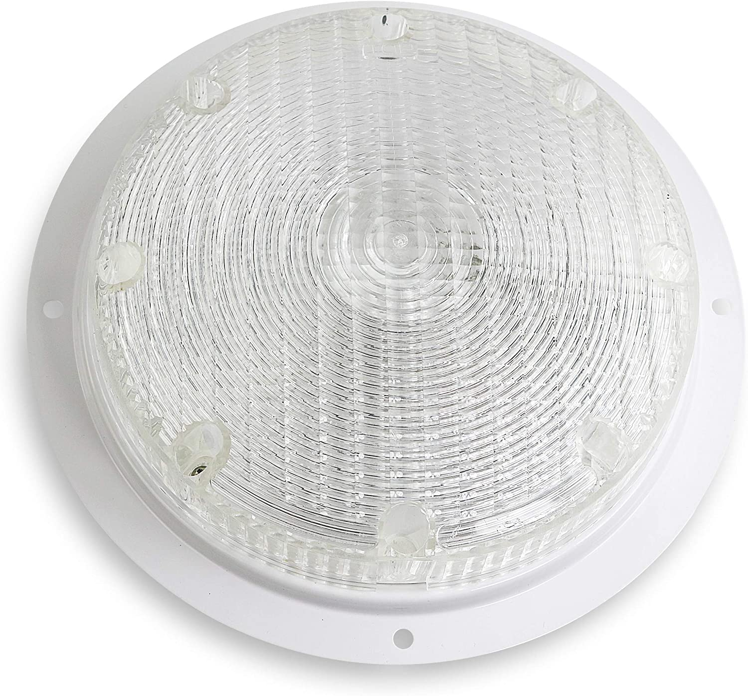 Leisure RV Surface Mount Incandescent Scare Light with Mounting Gasket Incandescent