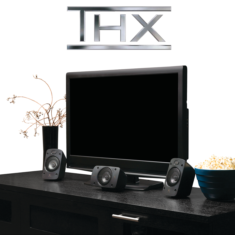 10 Easy Ways To Transform Your Space Into A Home Theater: Amazon.com: Logitech Surround Sound Speaker System Z906