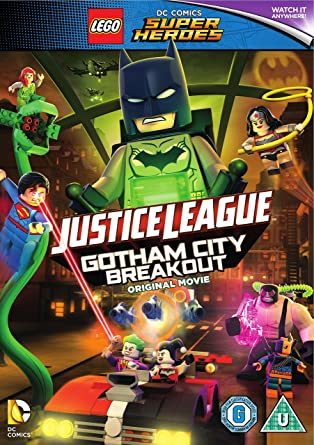 LEGO DC Justice League: Gotham City Breakout with Free Superhero ...