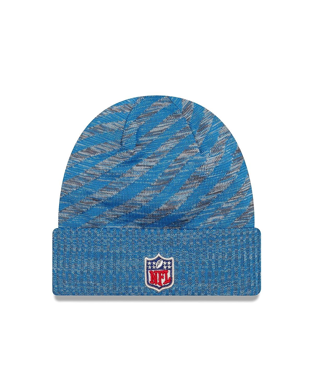 quality design ff542 54fa6 Amazon.com   New Era Detroit Lions On Field 2018 TD Sport Knit Hat   Sports    Outdoors